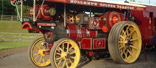 Great North Steam Fair - Some more exhibits confirmed: The big road engines!