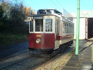 Tram depot shuffle