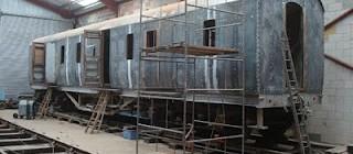 Rail Restorations North East at Shildon