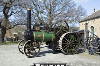Easter road steam at Beamish