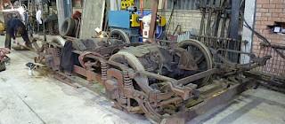Tram 196 Dismantling begins...