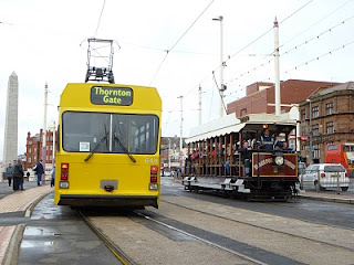 Blackpool Tramway 125th anniversary procession