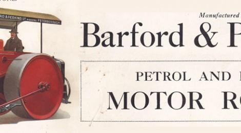 More vintage motor roller material online...