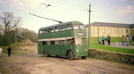 Looking back - Trolleybus operation at Beamish!