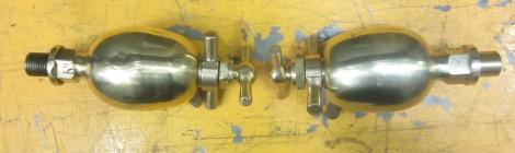 Dunrobin lubricators - a pair again...