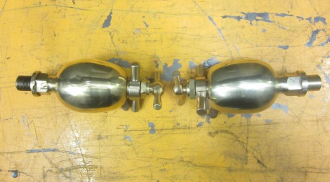Dunrobin lubricators - a pair again...