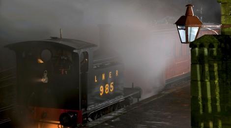 Rowley Station at night...