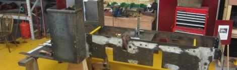 Samson frame erection progressing well...