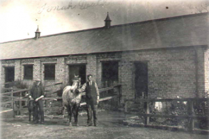 The origional stables at Rickless Drift