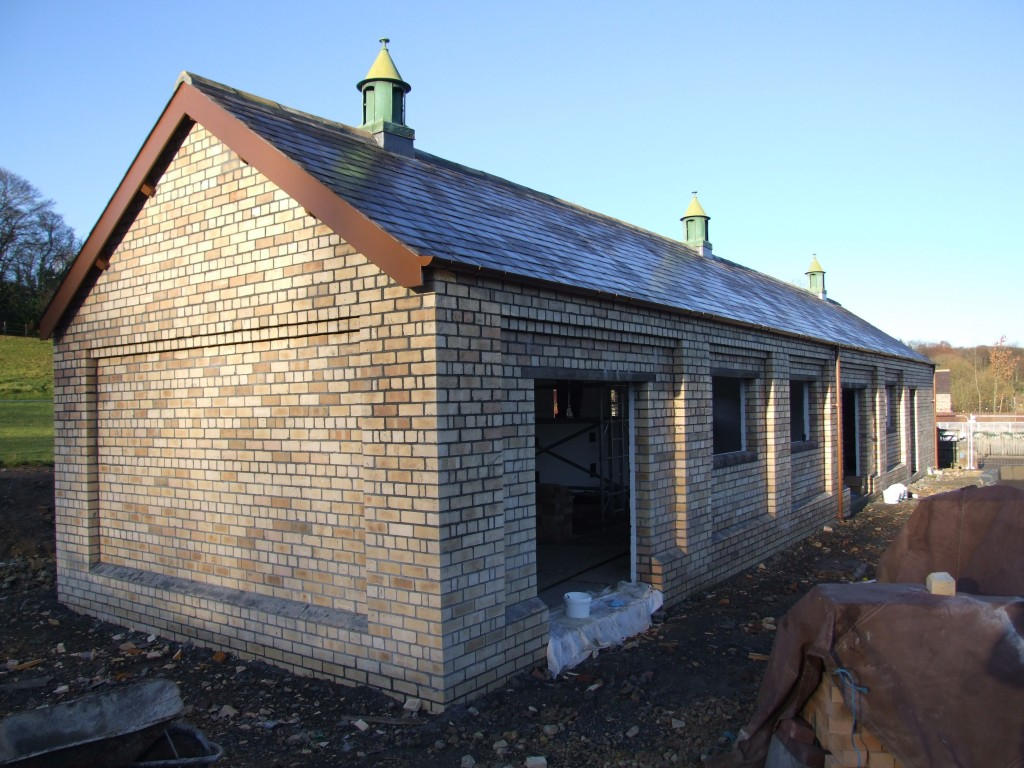 The Stables free of scaffolding for the first time