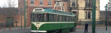 Blackpool 167 on test at Beamish...