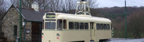 Blackpool tram No.280 - test running commences...