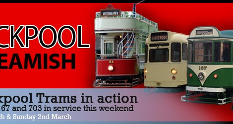This weekend - Blackpool Trams in action!