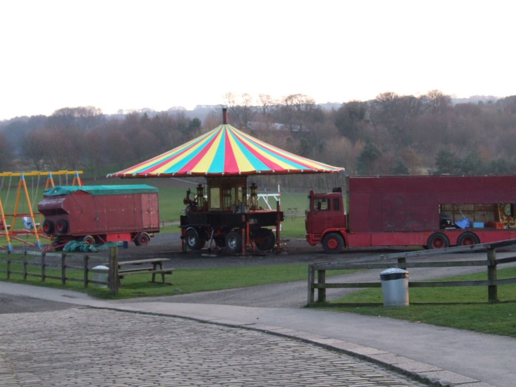 The Gallopers begging to take shape resplendent under its new Tilt (canvas)