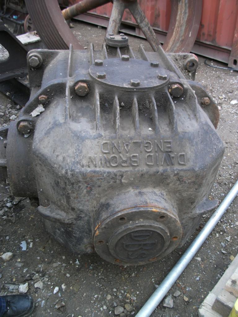 The David Brown gear box