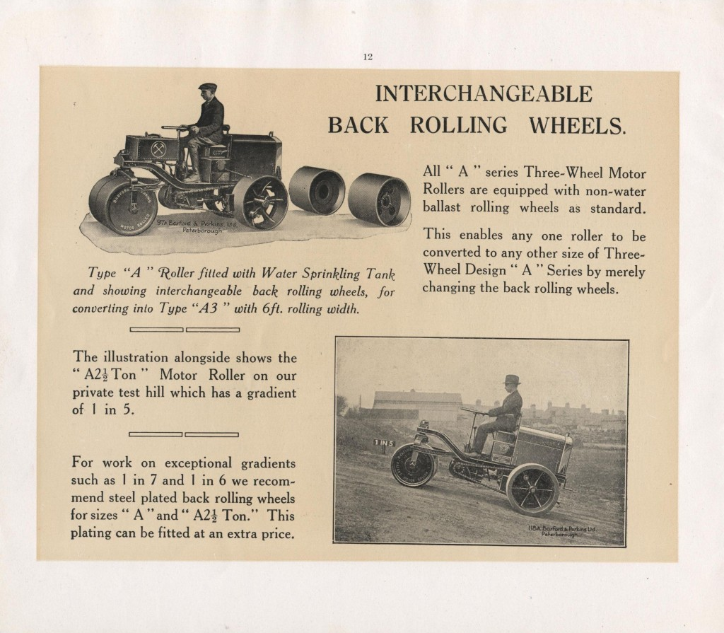 A Series interchangeable wheels
