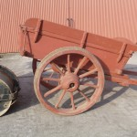 Beamish heavy duty horse drawn stone cart