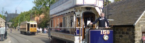 Electric 50 at the National Tramway Museum...