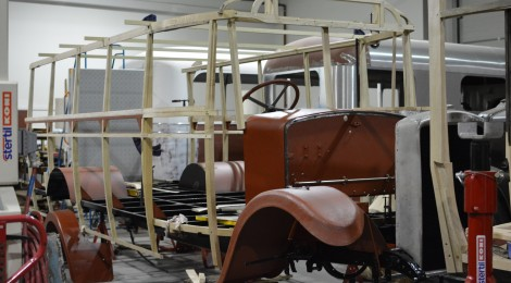 Leyland Cub Progress - January 2015