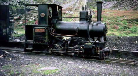 Glyder to be steamed at Beamish...