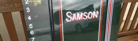Samson's lining...