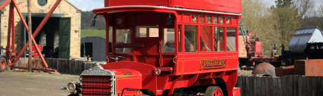 Daimler Bus Replica King-pin Repairs...