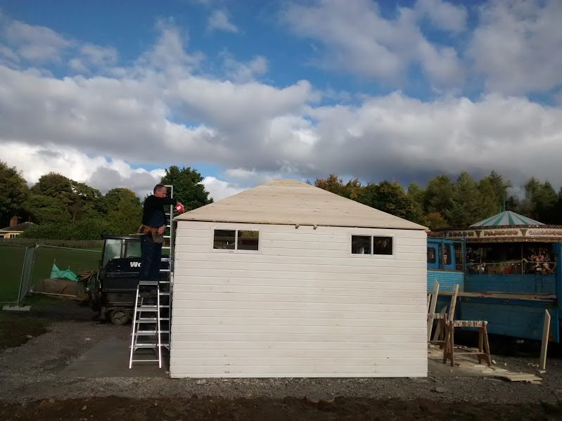 Toilet under construction