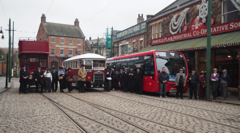 Northern and Go North East at Beamish