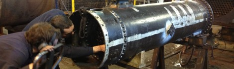 Samson Boiler Construction Completed...
