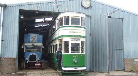 Blackpool 147 on test...