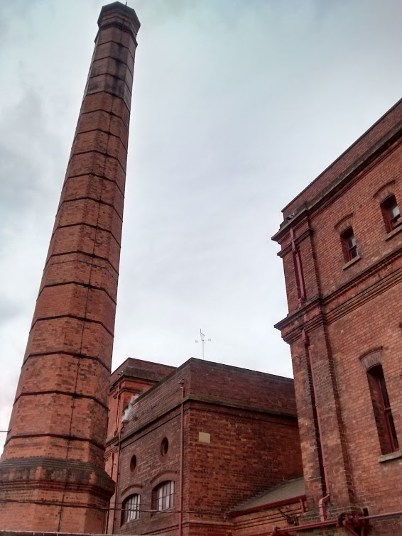 The Chimney and Engine Houses