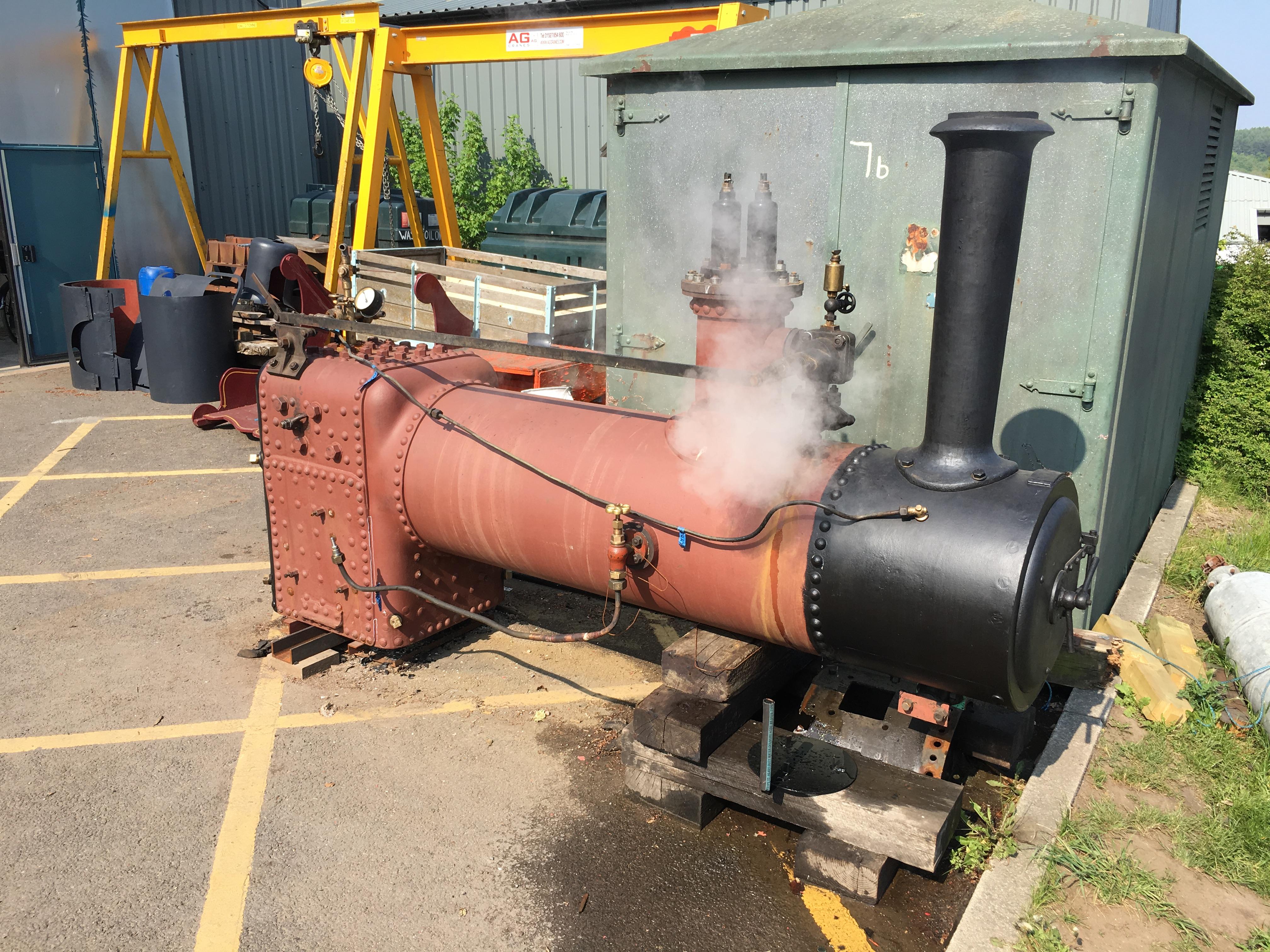 Glyder returns to steam… | Beamish Transport Online