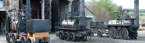 New build locomotives at Beamish...