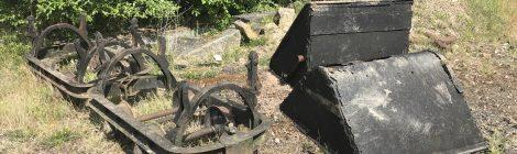 Hudson 'Victory' narrow gauge skip wagons...